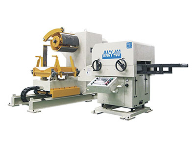 Decoiler Straightener Feeder Use as a Machine Tool